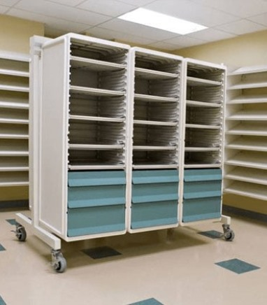 Mobile storage units with Unicell Cells