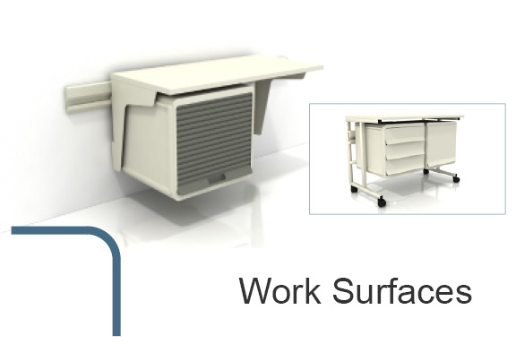 modular work surfaces