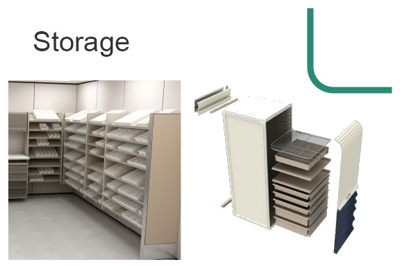 modular storage components