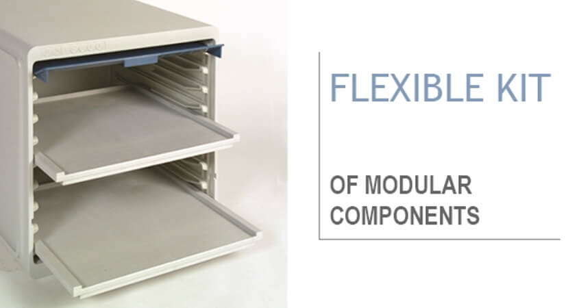 flexible kit of modular components