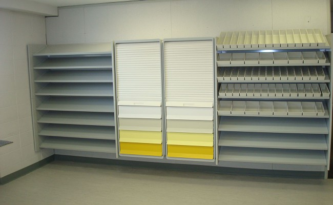 Off-floor storage using Unicell