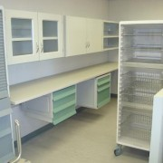 Unicell shelf units with door options