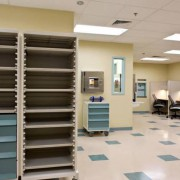 Hospital work stations and storage using Unicell